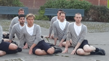 Ewald in Choreography for the Running Male (2015)